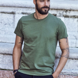 Basic T-shirt Uomo Girocollo Manica Corta Uomo
