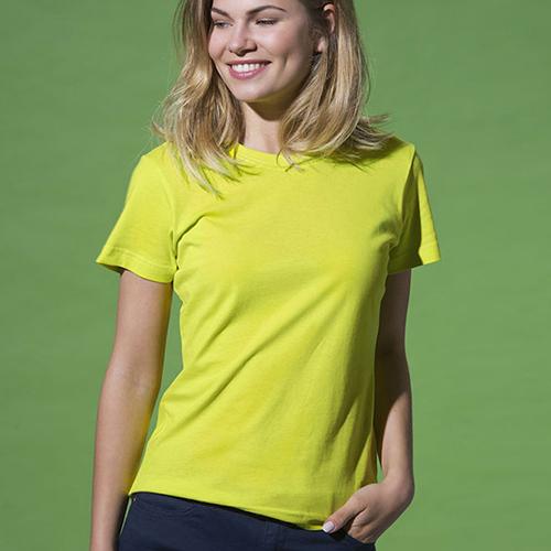 Basic T-shirt Lady Girocollo Manica Corta Donna
