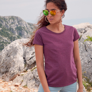 Ladies Valueweight T-shirt Manica Corta Donna