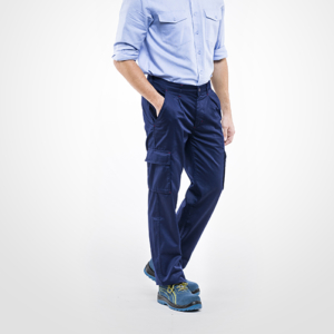 Pantalone Energy Da Lavoro Con Tasche Laterali Uomo