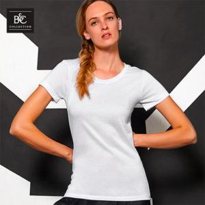 BCTW063 T-shirt Per Sublimazione Manica Corta Donna