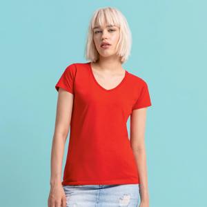 Ladies 150 V-Neck T-shirt Scollo a V Manica Corta Donna
