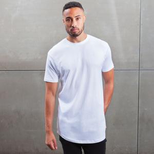 MAM126 Length T-shirt Over Cotone Organico Manica Corta Uomo
