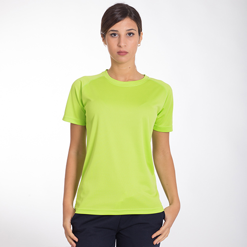 SPW100 Run T-shirt Sportiva Manica Corta Donna