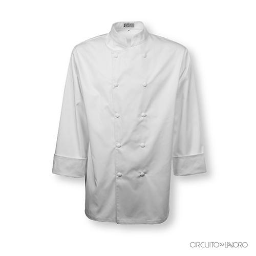 Giacca Chef Roma Doppio Petto Manica Lunga Unisex