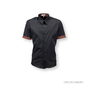 Camicia Klimt Collo Classico Manica Corta Uomo