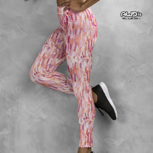 JC077 Leggings Fantasia Donna