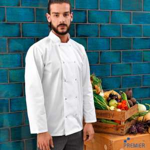 PR665 Giacca Chef Coreana Manica Lunga Unisex