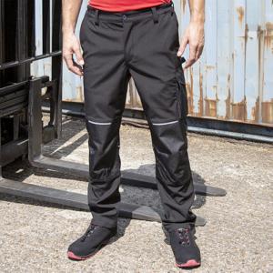 RER473X Softshell Pantalone Da Lavoro Con Tasche Laterali Uomo