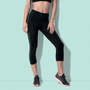 ST8320 Leggings Nylon 3/4 Donna