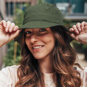 ATBUCO Cappello Modello Pescatore In Cotone Unisex