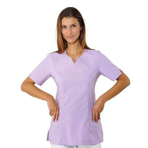 Casacca Tiffany Manica Corta 65% poliestere/35% cotone Donna
