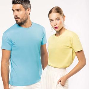 K3032 T-shirt Bio Manica Corta Unisex